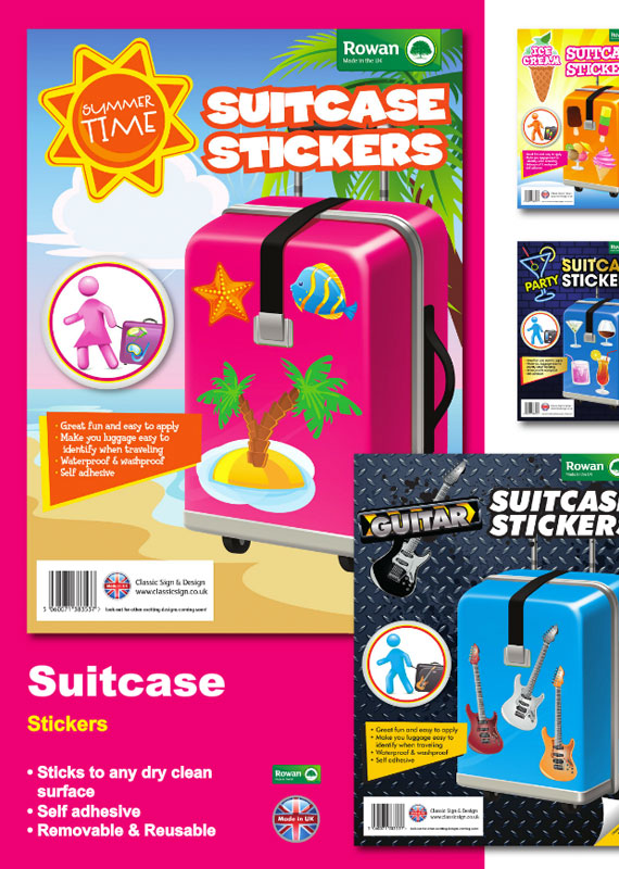 Suitcase Stickers Low Price Colourful Stickers For Your