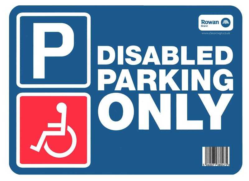 Disabled Parking Sticker