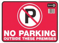 No Parking Stickers Image